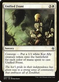Unified Front, Magic: The Gathering, Battle for Zendikar