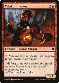 Valakut Invoker, Magic: The Gathering, Battle for Zendikar