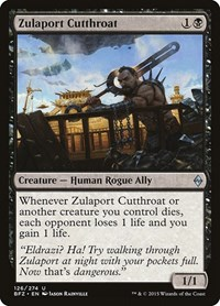 Zulaport Cutthroat (Foil)