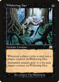 Withering Hex, Magic, Onslaught