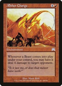 Aether Charge, Magic: The Gathering, Onslaught
