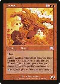 Avarax, Magic: The Gathering, Onslaught