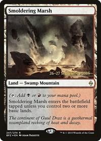 Smoldering Marsh, Magic: The Gathering, Prerelease Cards