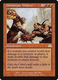 Gratuitous Violence, Magic: The Gathering, Onslaught