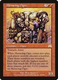 Menacing Ogre, Magic: The Gathering, Onslaught