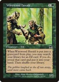 Wirewood Herald, Magic: The Gathering, Onslaught