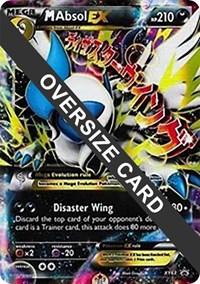 M Absol EX - XY63 (XY Black Star Promos), Pokemon, Jumbo Cards