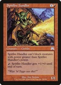 Spitfire Handler, Magic: The Gathering, Onslaught