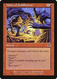 Wave of Indifference, Magic: The Gathering, Onslaught