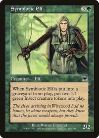 Symbiotic Elf, Magic: The Gathering, Onslaught