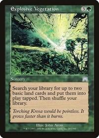 Explosive Vegetation, Magic: The Gathering, Onslaught