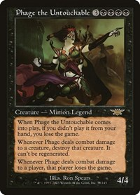 Phage the Untouchable (Foil)