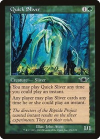 Quick Sliver, Magic, Legions