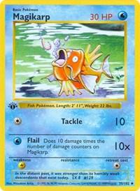 Magikarp, Pokemon, Base Set (Shadowless)