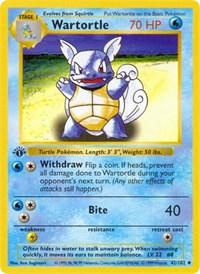 Wartortle, Pokemon, Base Set (Shadowless)