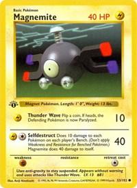 Magnemite, Pokemon, Base Set (Shadowless)