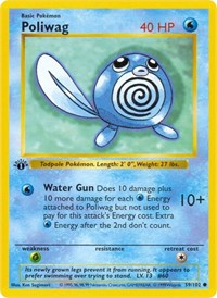 Poliwag, Pokemon, Base Set (Shadowless)