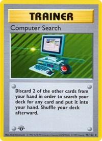 Computer Search, Pokemon, Base Set (Shadowless)