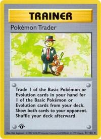 Pokemon Trader, Pokemon, Base Set (Shadowless)