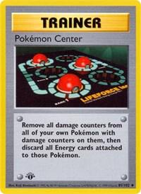 Pokemon Center, Pokemon, Base Set (Shadowless)