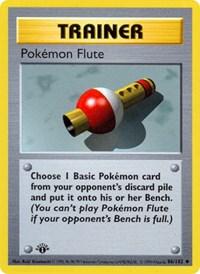 Pokemon Flute, Pokemon, Base Set (Shadowless)