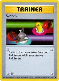 Switch, Pokemon, Base Set (Shadowless)