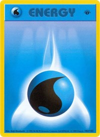 Water Energy, Pokemon, Base Set (Shadowless)