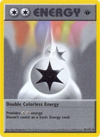 Double Colorless Energy, Pokemon, Base Set (Shadowless)