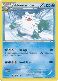 Abomasnow, Pokemon, XY - BREAKthrough