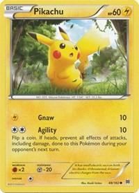 Pikachu, Pokemon, XY - BREAKthrough