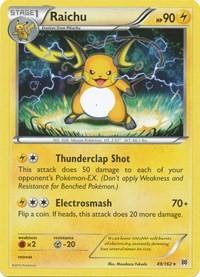 Raichu, Pokemon, XY - BREAKthrough
