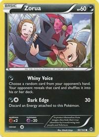 Zorua (90), Pokemon, XY - BREAKthrough