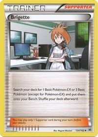 Brigette, Pokemon, XY - BREAKthrough