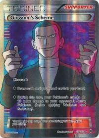 Giovanni's Scheme (Full Art), Pokemon, XY - BREAKthrough