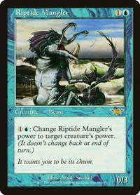 Riptide Mangler, Magic: The Gathering, Legions