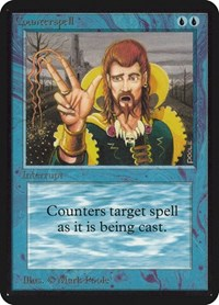 Counterspell, Magic: The Gathering, Alpha Edition