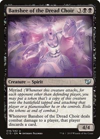 Banshee of the Dread Choir, Magic: The Gathering, Commander 2015