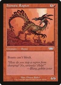 Frenetic Raptor, Magic: The Gathering, Legions