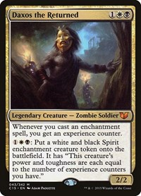 Daxos the Returned, Magic: The Gathering, Commander 2015