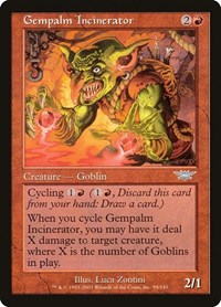 Gempalm Incinerator, Magic: The Gathering, Legions