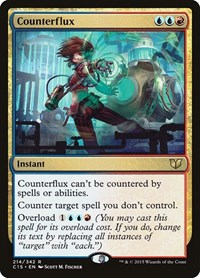 Counterflux, Magic, Commander 2015