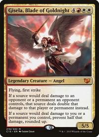 Gisela, Blade of Goldnight, Magic, Commander 2015