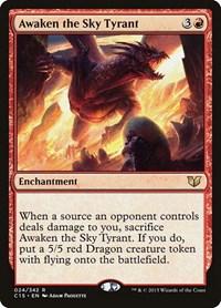 Awaken the Sky Tyrant, Magic: The Gathering, Commander 2015
