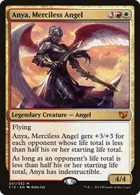 Anya, Merciless Angel, Magic: The Gathering, Commander 2015