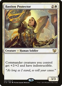 Bastion Protector, Magic: The Gathering, Commander 2015