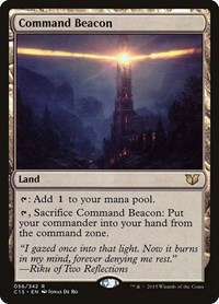 Command Beacon, Magic: The Gathering, Commander 2015