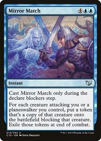 Mirror Match, Magic: The Gathering, Commander 2015