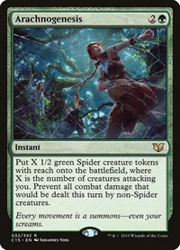 Arachnogenesis, Magic: The Gathering, Commander 2015