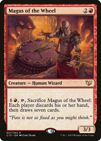 Magus of the Wheel, Magic: The Gathering, Commander 2015