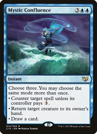Mystic Confluence, Magic: The Gathering, Commander 2015